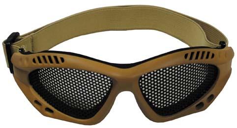 MFH rácsos védőszemüveg Desert-0