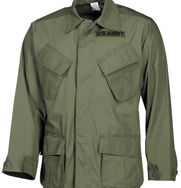 US Vietnam-style kabát RIP STOP OD-0