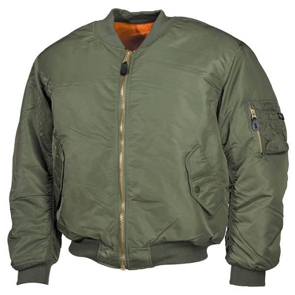 Classical US Pilot Jacket OD green-0