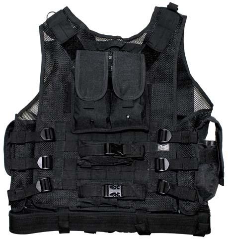 "USMC"" style FULL Taktikai mellény Black – bbairsoft b3685357ae"