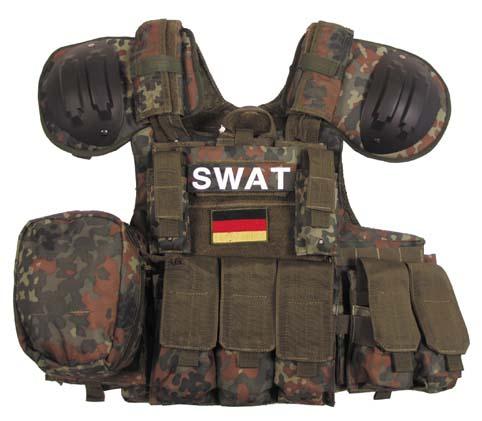 "MFH ""Combat"" Taktkai mellény BW camo-0"