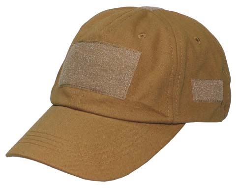 Operations Cap, with velcro Coyot-0
