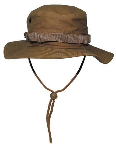 US GI Bush Hat, Rip Stop, Coyot-0