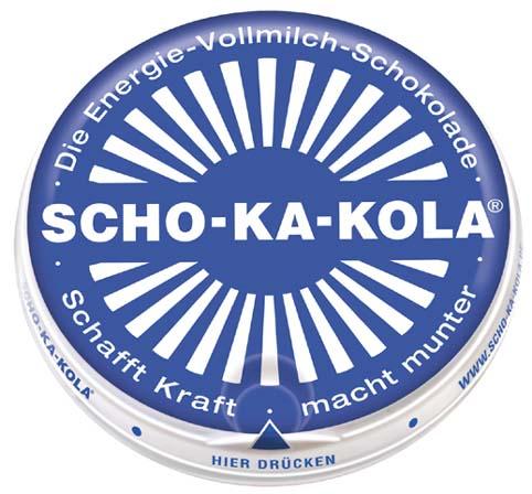 Sho-Ka-Kola Luftwaffe túlélő energetizáló tejcsoki -0