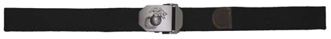 USMC Web Belt, 40 mm, fekete -0