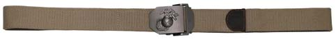 USMC Web Belt, 40 mm,coyot-0