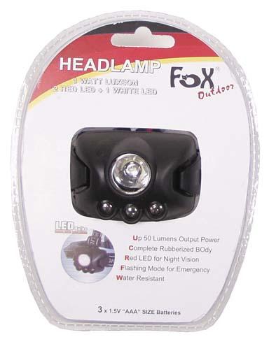 Fejlámpa LED-4881