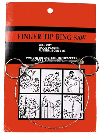 Huzal fűrész gyűrűkkel-0