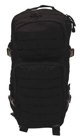 MFH Assault I 3 napos hátizsák MOLLE fekete-0