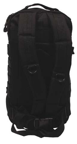 MFH Assault I 3 napos hátizsák MOLLE fekete-3865