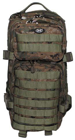 e60b7fd36c61 MFH Assault I 3 napos hátizsák MOLLE Digital Woodland – bbairsoft