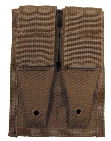 MFH Molle Dupla pisztoly tárzseb , Coyot-0