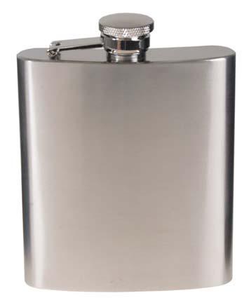 Acél flaska, rozsdamentes acél, króm, matt, 225 ml-0