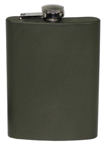 Acél flaska, rozsdamentes acél, OD green, 225 ml-0