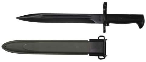 US szurony, fekete pengével, műanyag tokban M1 Garand-0