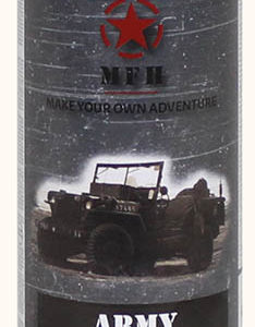Army festék spray, FEKETE, mat, 400 ml-0