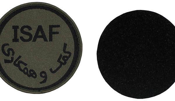 Eredeti angol ISAF felvarró-0