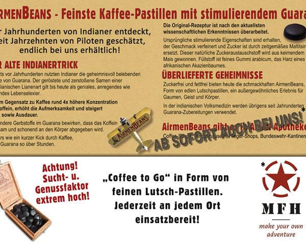 Luftwaffe AirmenBeans kávé pasztilla-4817