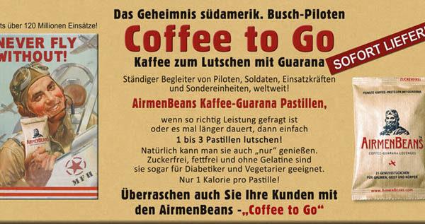 Luftwaffe AirmenBeans kávé pasztilla-4819